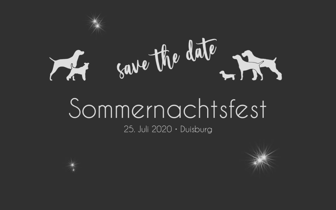 Save the date | Sommernachtsfest